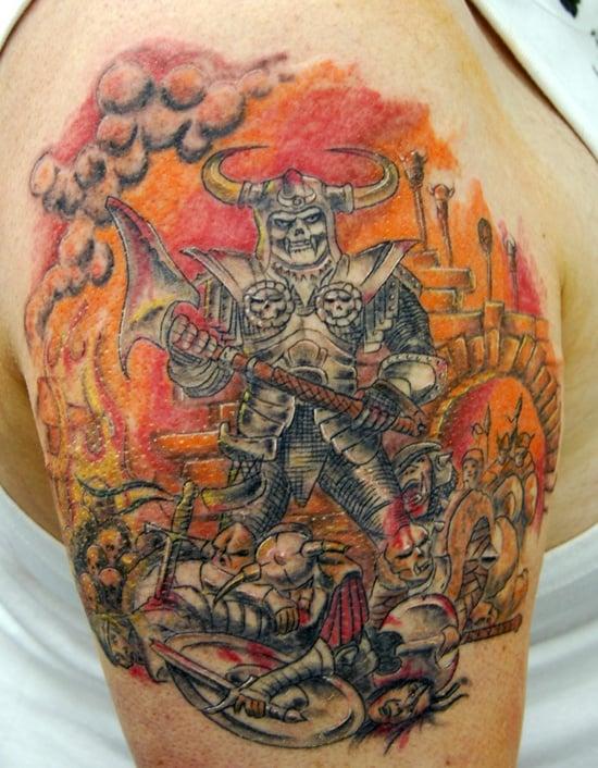 warriors tattoo (5)