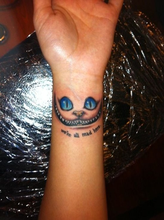 30 Alice In Wonderland Tattoo Designs With Meaning