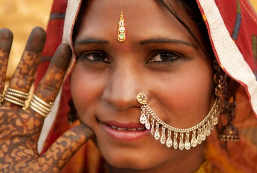 Indian-nose-piercing