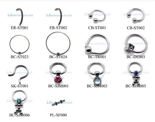 30 different tongue piercing options for men and women for Types of body jewelry rings