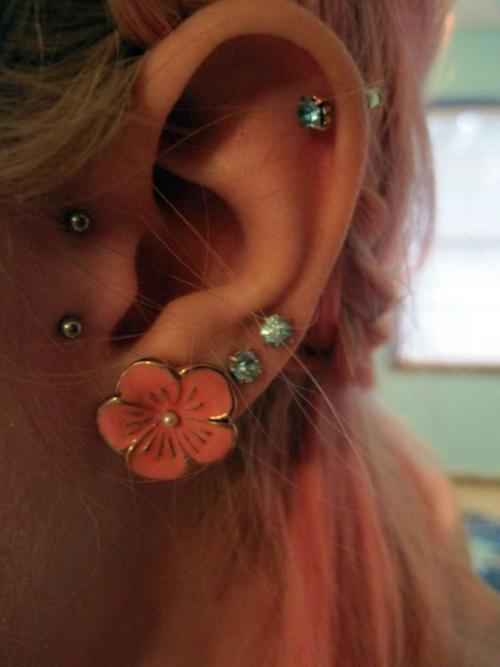 Ways To Accent Tragus Piercings To Perfection