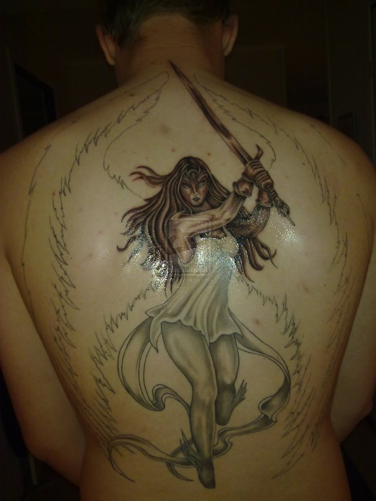 angel tattoo 62