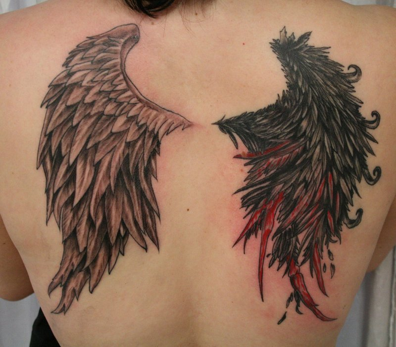 Angel-Wings- Tattoos