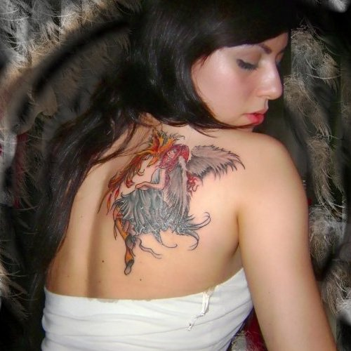 anna-angel tattoo