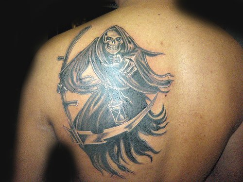 Death Angel Tattoo 7