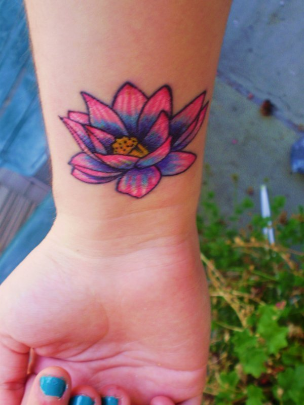 Flower Tattoos Lotus