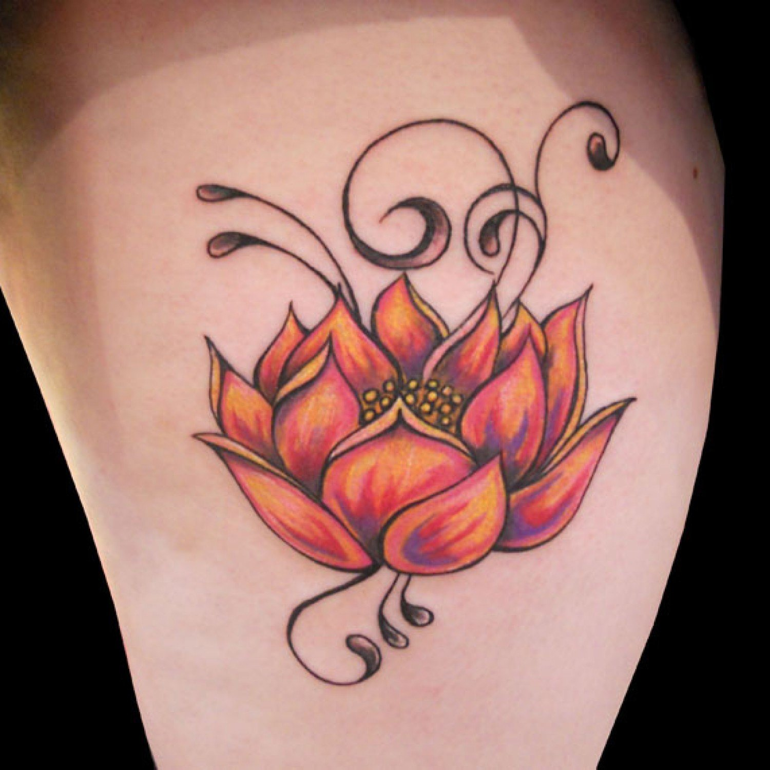 41 Enticing Lotus Flower Tattoos