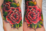 10-Rose-Tattoo on foot