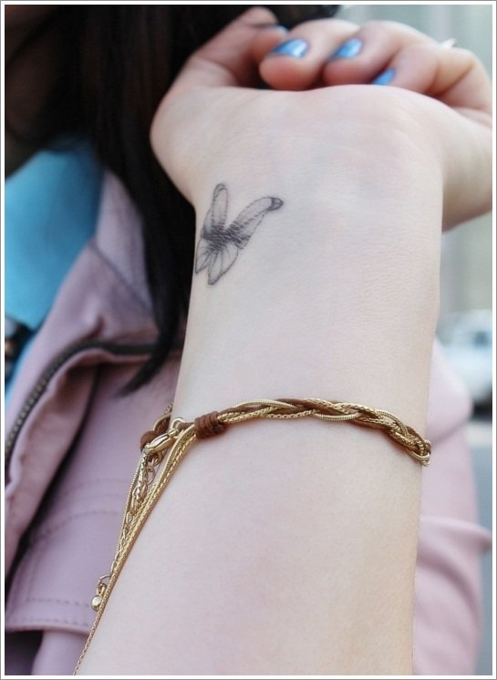 Small-Butterfly-Tattoos-on-Wrist