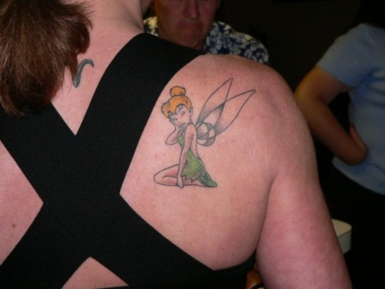 Tinkerbell-back tattoo 1024x768