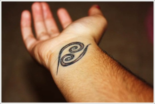 cancer-zodiac-wrist-tattoo