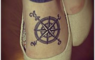 compass-tattoo-designs-6