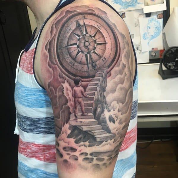 28230916-compass-tattoos