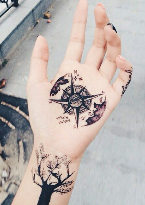 53230916-compass-tattoos