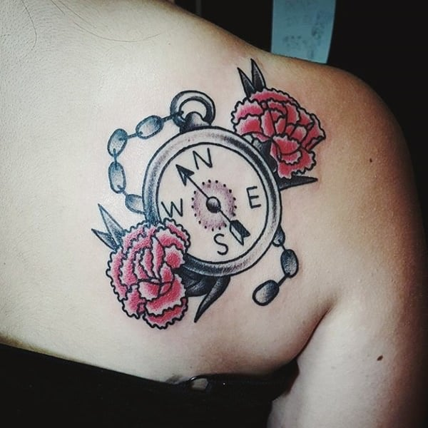 69230916-compass-tattoos