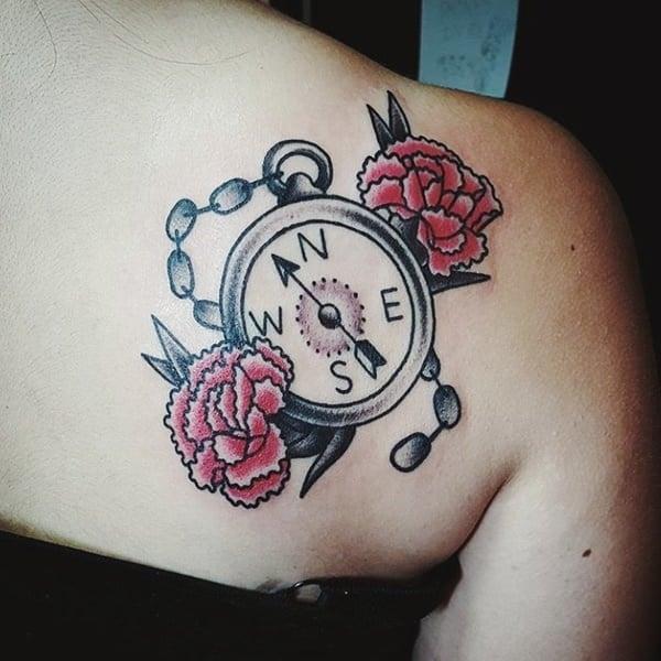 69230916-compass-tattoos