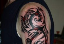 tribal tattoos arm