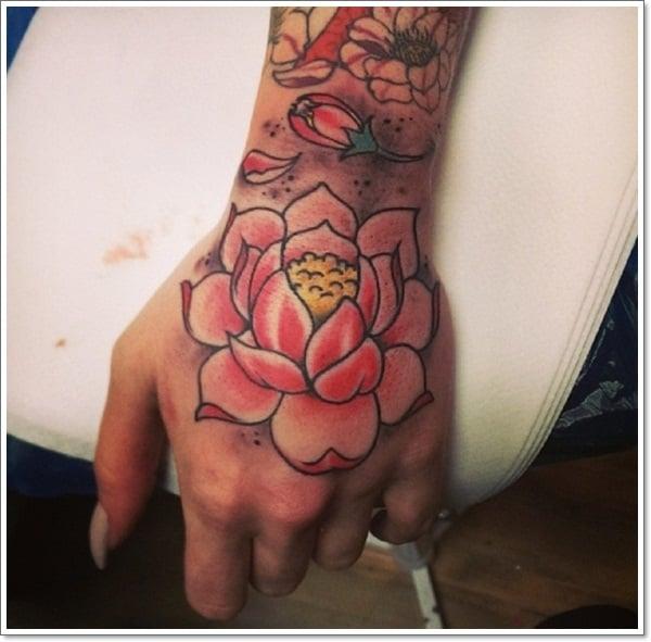 Lotus Flower Tattoo 678