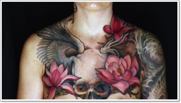 cool Lotus Flower Tattoo