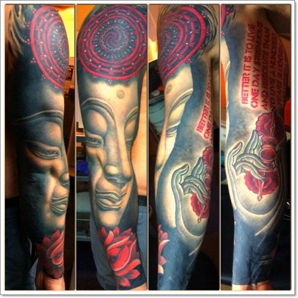 lotus flower tattoo design 65