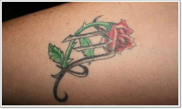 virgo-flower-tattoo
