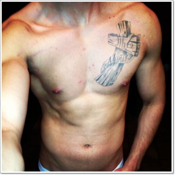 tattoo virgo men chest Virgo Star Sign Tattoos For Men