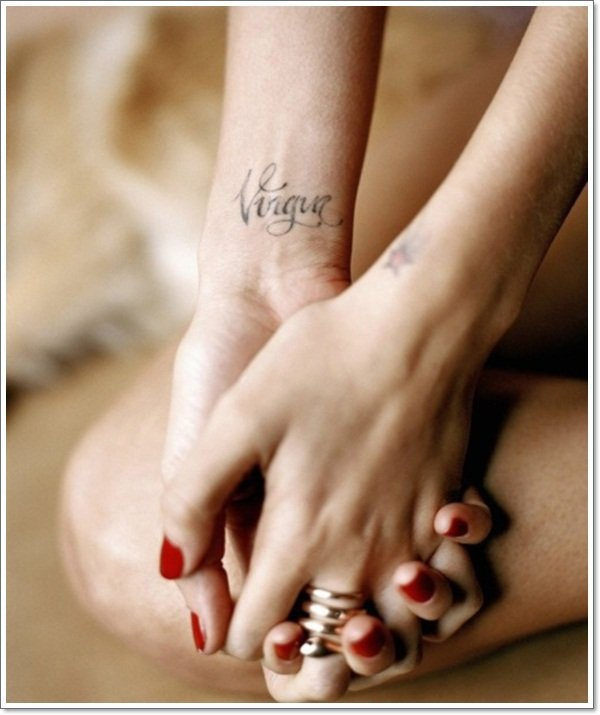 Virgo Star Tattoo 30 of the Best ...