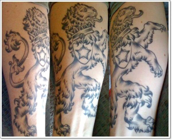 Bohemian-Lion-Tattoo