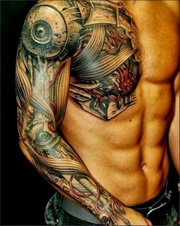 Chest-Tattoo-Designs-For-Men-And-Women-12