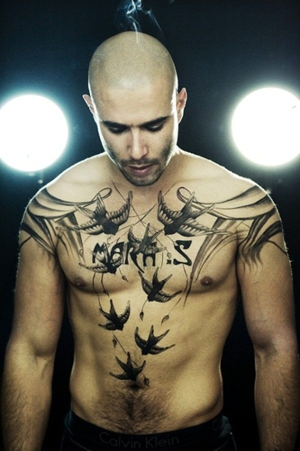 Chest-Tattoo-Designs-For-Men-And-Women-21