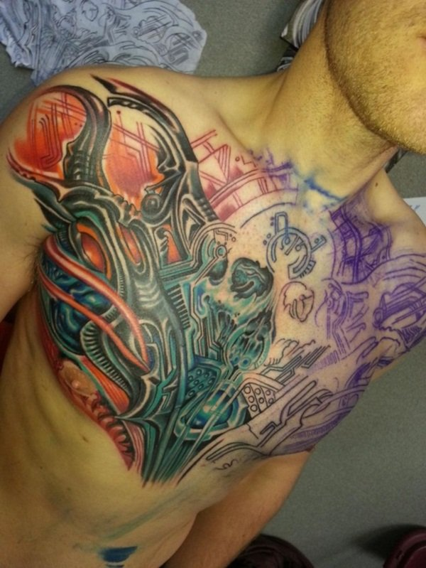 Tattoo Ideas Chest: 45 Intriguing Chest Tattoos For Men