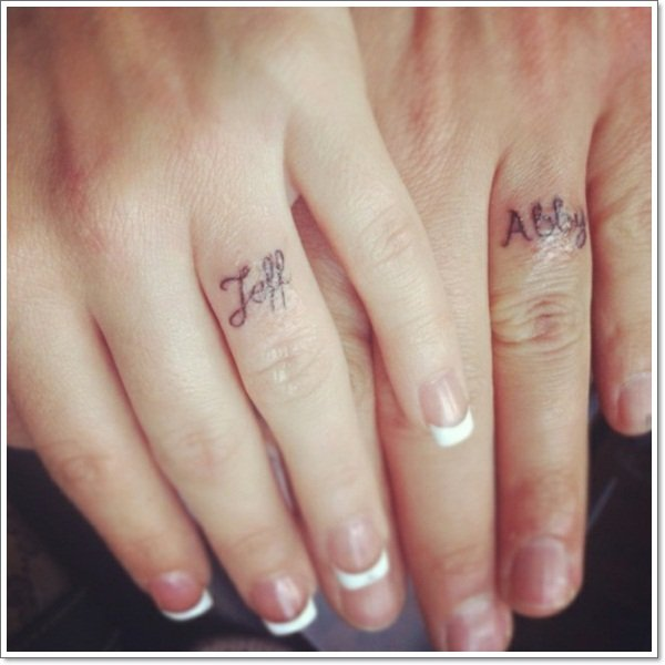 awesome wedding ring tattoos-33