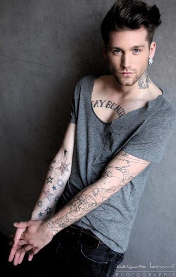 Mens Chest Tattoo: 45 Intriguing Chest Tattoos For Men