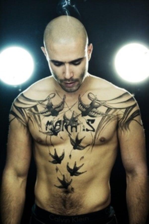 chest tattoos for men 3