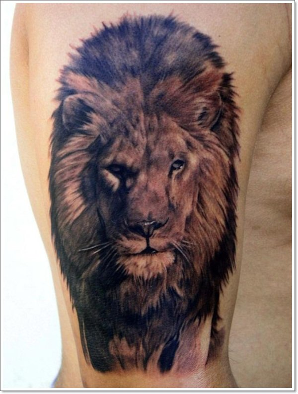 lion-tattoo-on-bicep