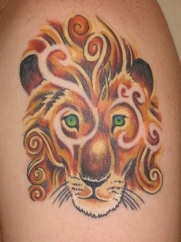 narnia-inspired-lion-tattoo