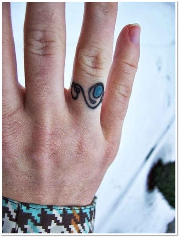 wedding ring tattoos 5