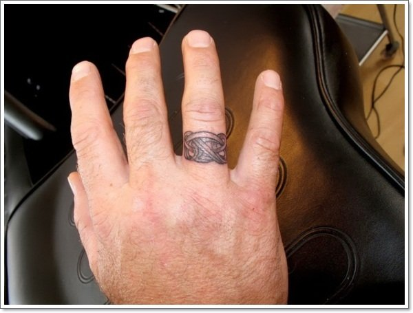 wedding ring tattoos 8 - Wedding Ring Finger Tattoos