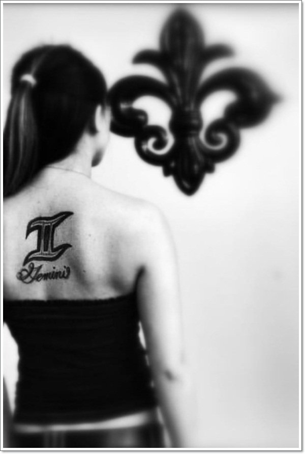 Gemini Tattoo Designs 5