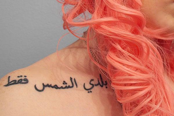 collarbone tattoo