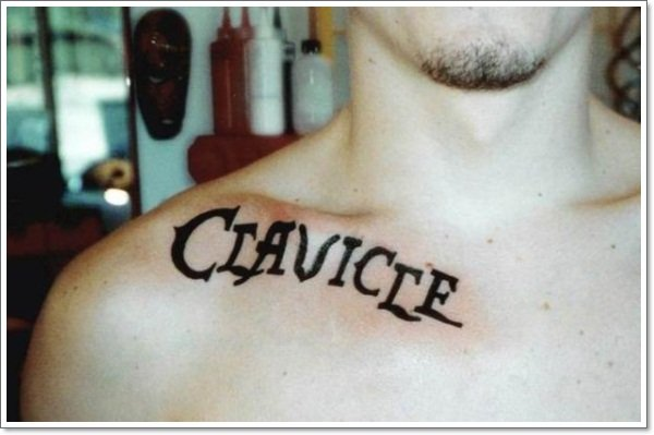 clavicle Tattoos 13