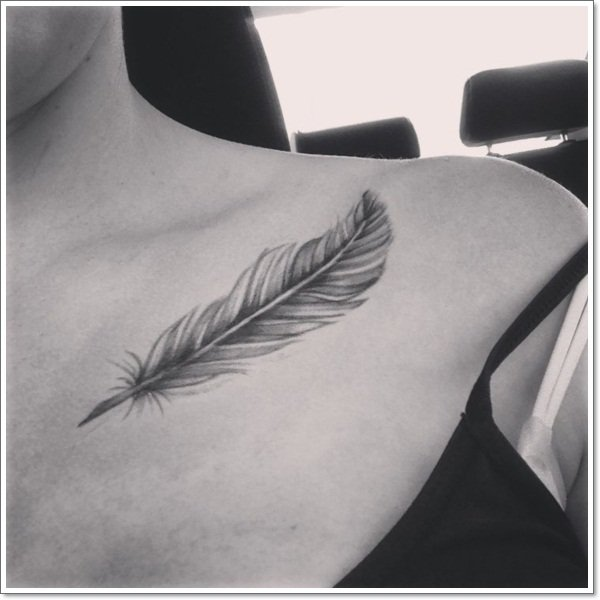 clavicle Tattoos 30