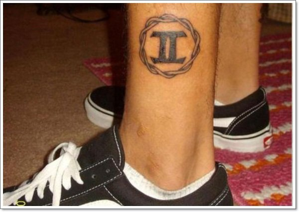 Gemini-leg tattoos
