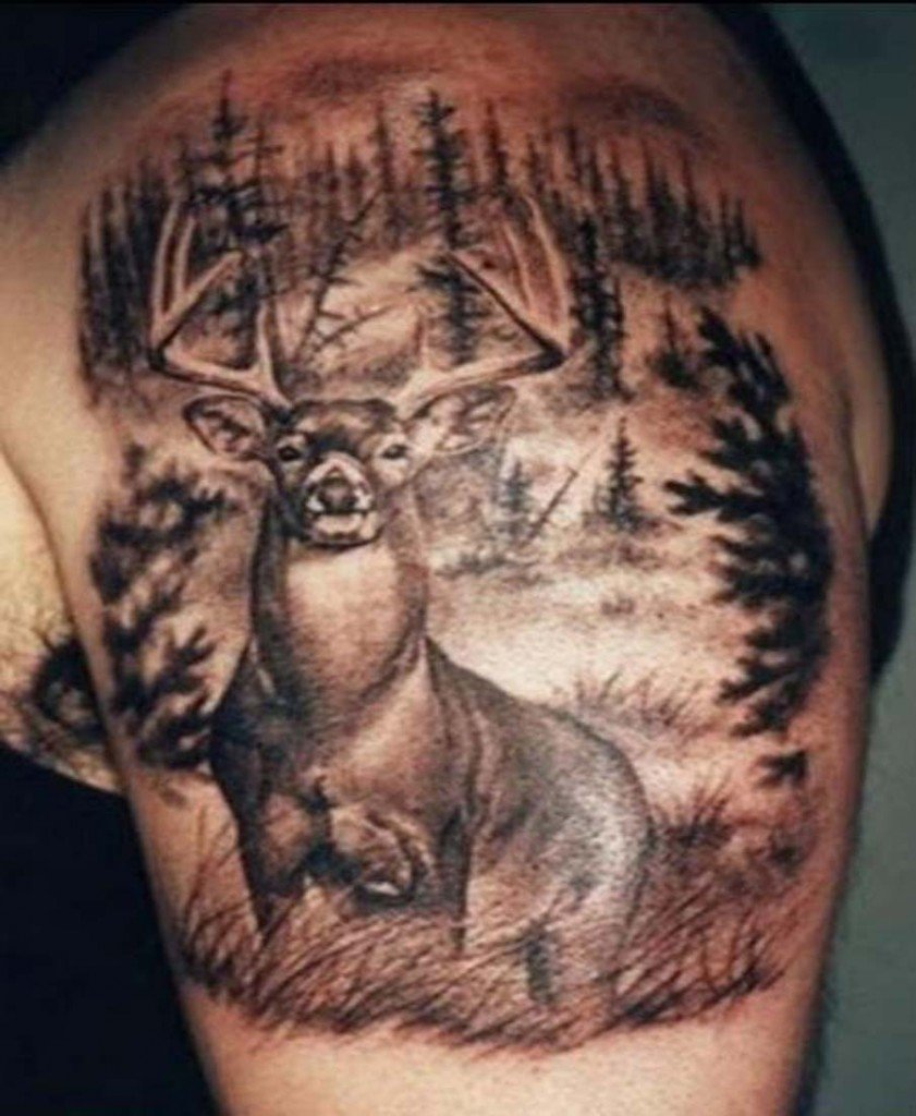Deer-Antler-Tattoos