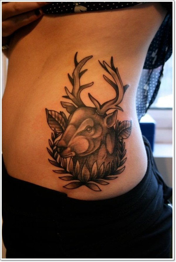 Deer Tattoos For Men And Women 11
