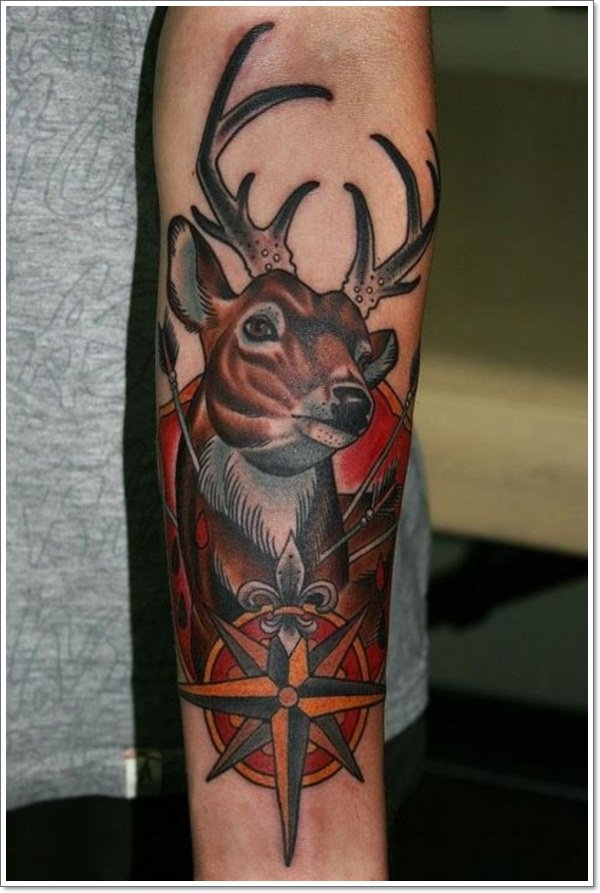 Deer Tattoos For Men And Women 12