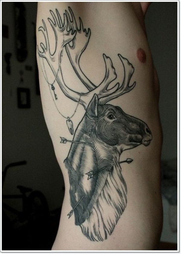 Deer Tattoos For Men And Women 6
