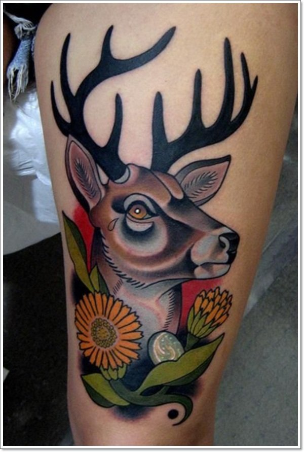 Deer Tattoos For Men And Women 7