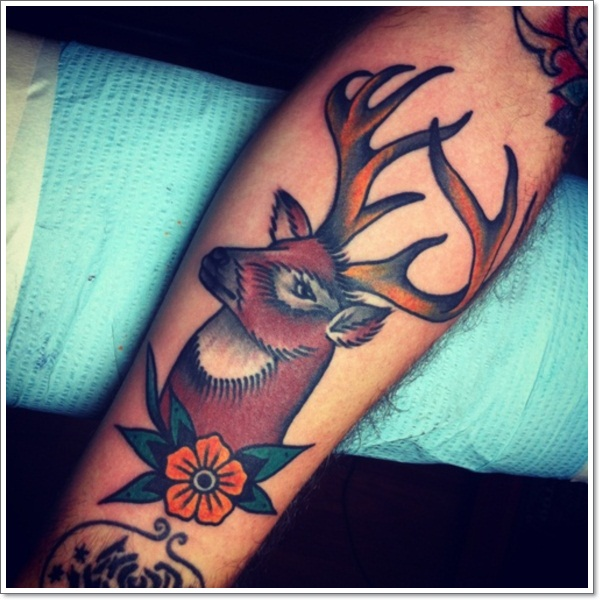 Deer Tattoos For Men And Women 8