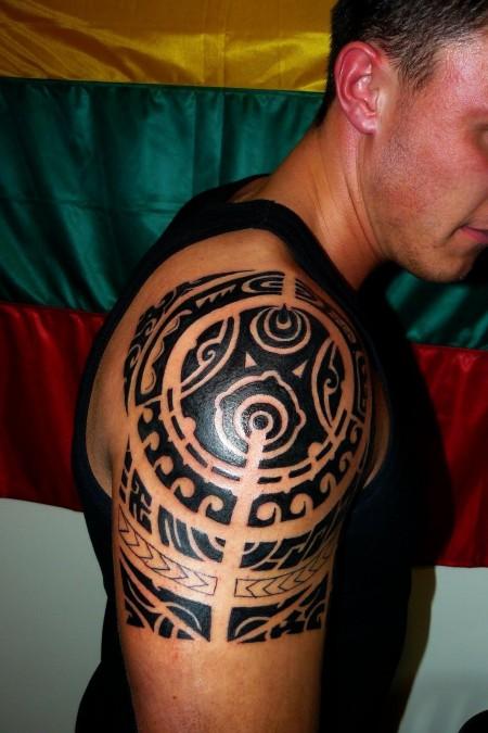 polynesian-style-tribal-tattoo-by-devilsarm-849325543